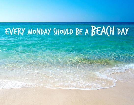Every Monday should be a BEACH day: http://carillon-beach.com/tour/beach/
