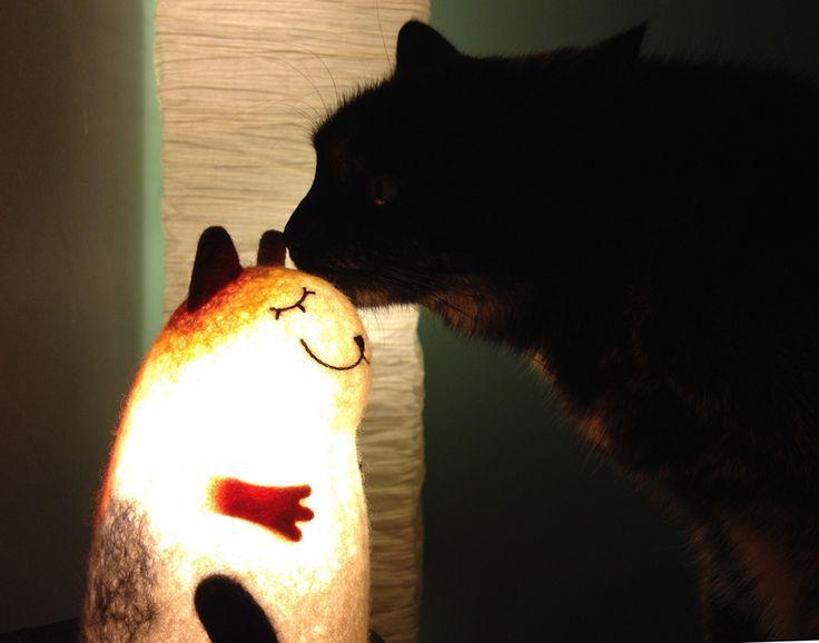 Наш светильник у новых хозяев:)