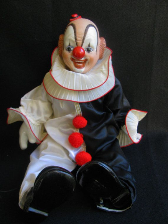 Vintage Porcelain Clown 1980 S Pinterest Clowns