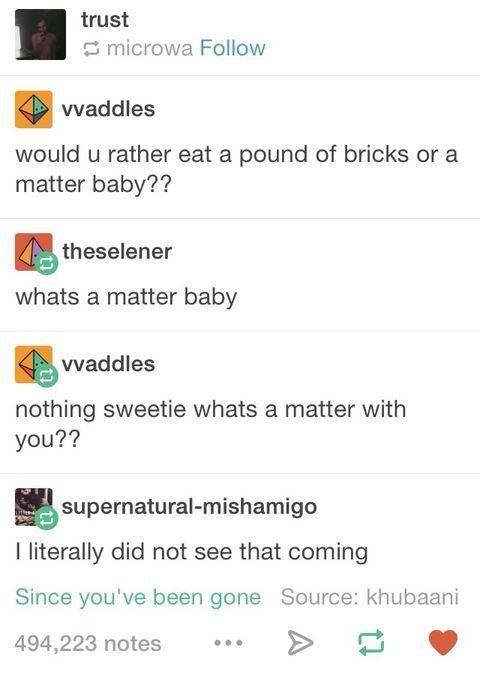 A matter baby