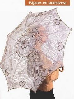 Vih's Magia das Artes: Sombrinhas de Croche