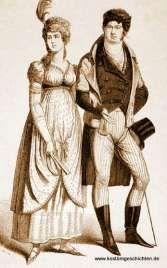 ber ideen zu historische kleidung auf pinterest 1920er regentschafts kleid und regency. Black Bedroom Furniture Sets. Home Design Ideas