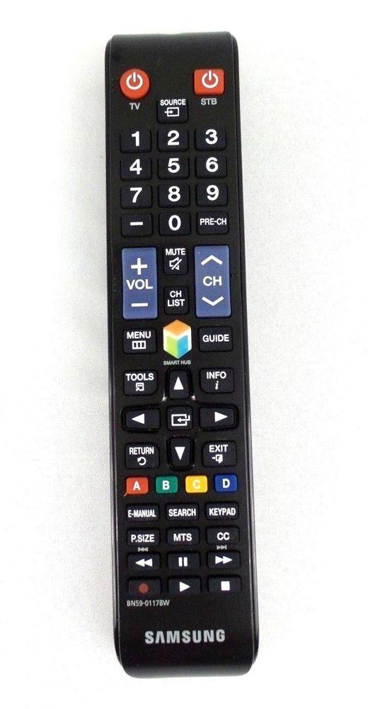 Oem Original Samsung Bn59 01178w Bn5901178w Tv Remote Control