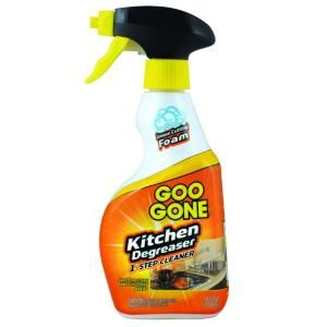 Goo Gone 14 oz. Trigger Foaming Kitchen Grease Cleaner and Remover-1879 at The Home Depot