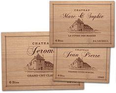 Creer votre couvercle de caisse de vin personnalise avec votre prenom et votre annee de naissance