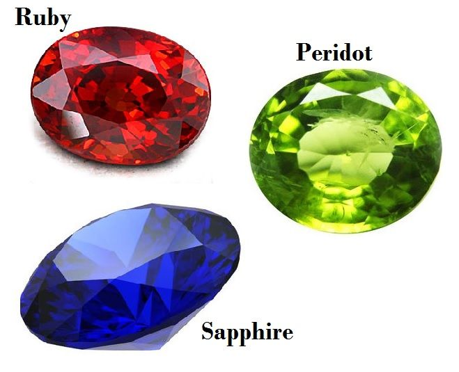 Birthstones for July August September
