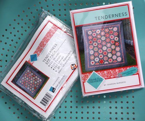 """""""Tenderness Quilt, templates & Paper Pack"""" designed by Sharon Burgess for Lilabelle Lane"""