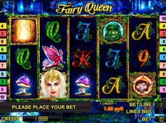 Fairy Queen – описание игрового автомата Королева Фей - http://vulkanvulkan.com/fairy-queen
