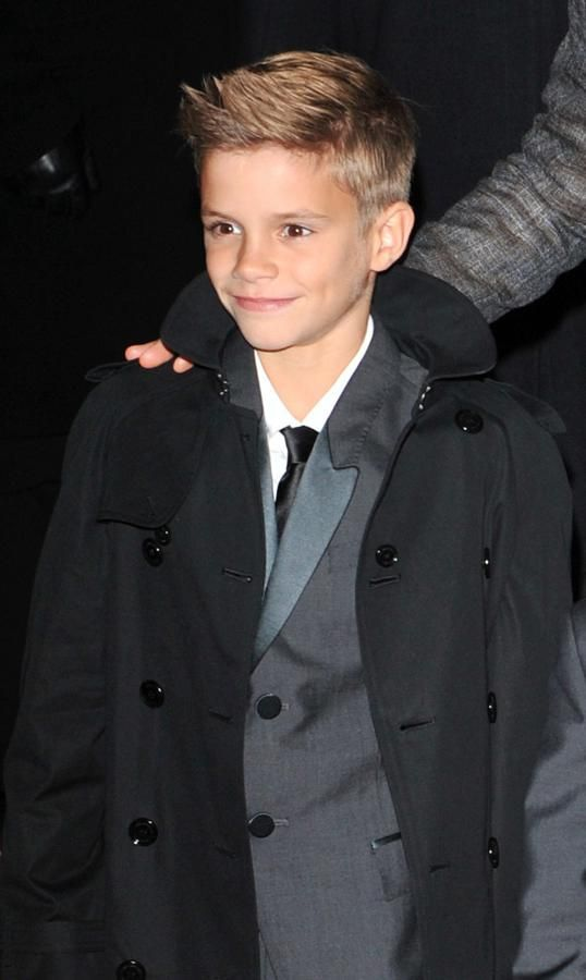 www.burberrysscarfsale.org 2002: Ohh the Beckham family grows: Romeo James born. Definitely has the Victoria genes – not only in his looks but his taste for fashion (as an aspiring Burberry model!) | David Beckham ♥♥