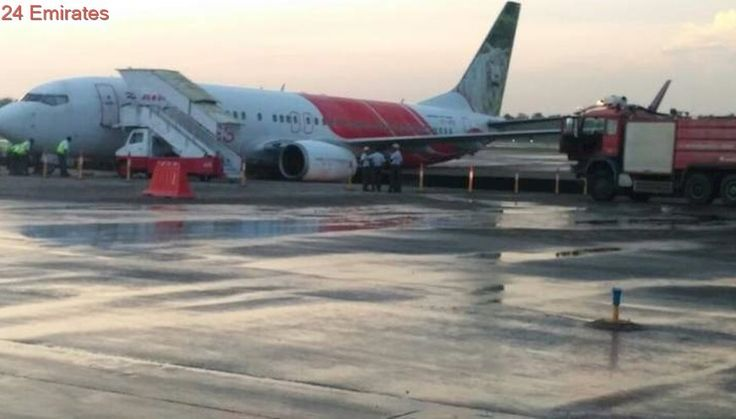 Air India Express plane from Abu Dhabi veers of taxiway in Kochi