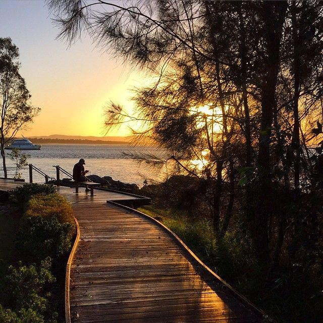 A magical sunset over 1770 in @gladstoneregion. Did you know that 1770 is built on the the second landing site of Captain James Cook. #visitgladstone #thisisqueensland