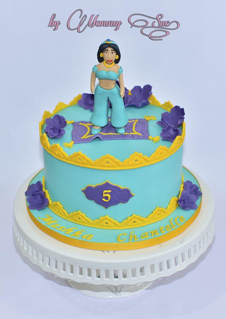 Princess Jasmine Cake Birthday Cake for Girls ...