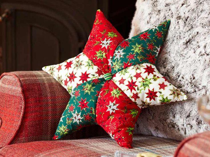 How to make a star cushion. Christmas SewingChristmas ProjectsHandmade ... & Best 25+ Cushion ideas ideas on Pinterest | Cushions to make Cat ... pillowsntoast.com