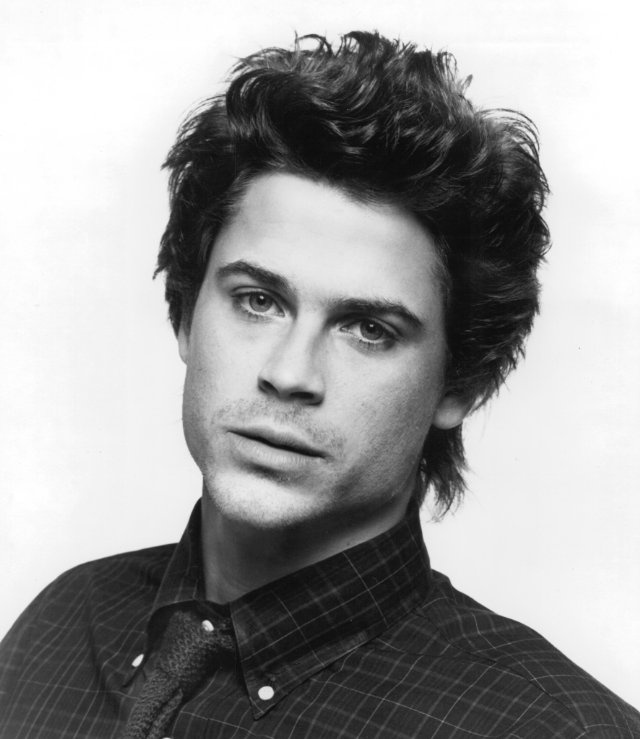 Rob Lowe back in the day. I will not accept anyone less attractive as my future husband.