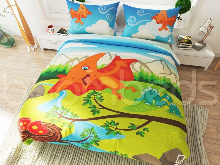 Dinosaur Bedding – Pterodactyl - boombeds!