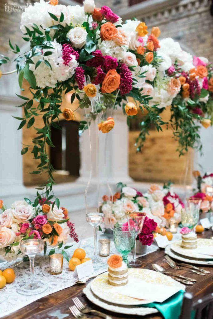 Romantic Spanish Inspired Wedding With Greenery Romantic