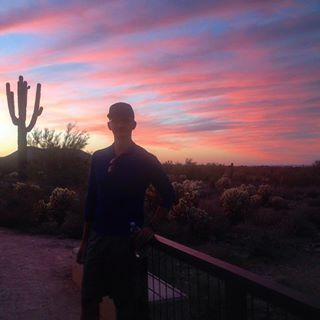 Epic sunrise & morning trail run... And then I rolled my ankle  ending the nostalgia abruptly  lol