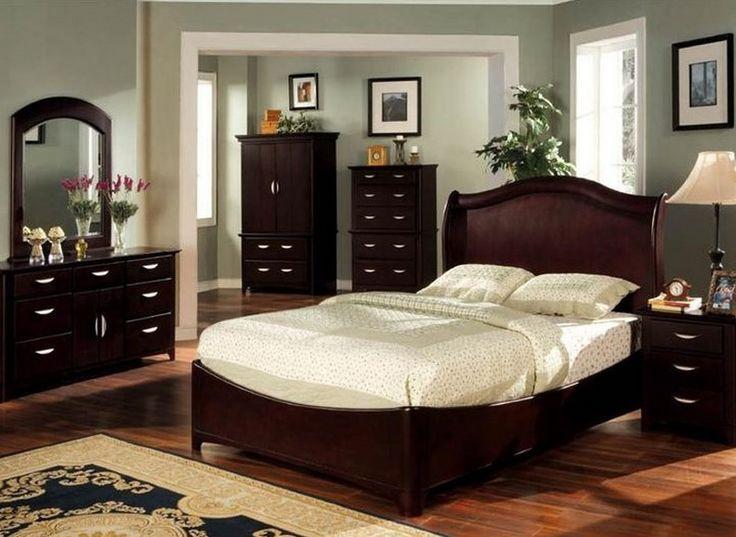 The 25 best Cherry wood bedroom ideas on Pinterest Black sleigh