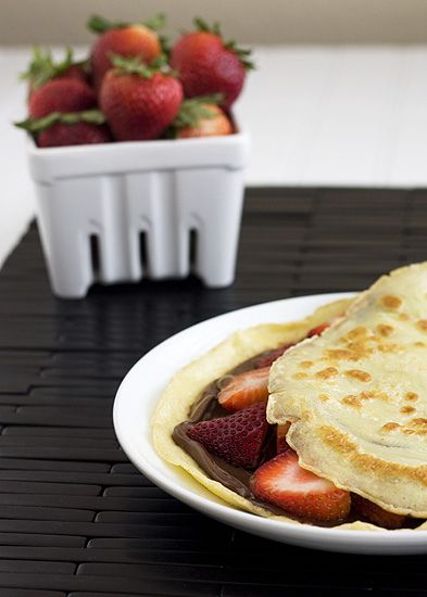 Marshmallow and Nutella Crêpes