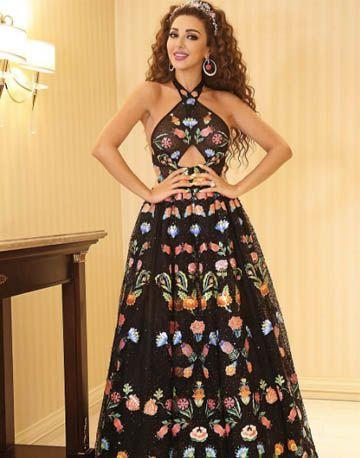 Myriam fares dresses rami kadi black
