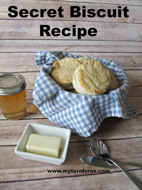 Secret Biscuit Recipe from our family to yours!    http://www.myturnforus.com/2016/03/secret-biscuit-recipe.html
