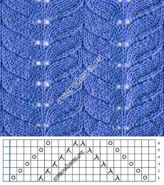 Patrón 716 |  patrón de tejer con agujas directorio