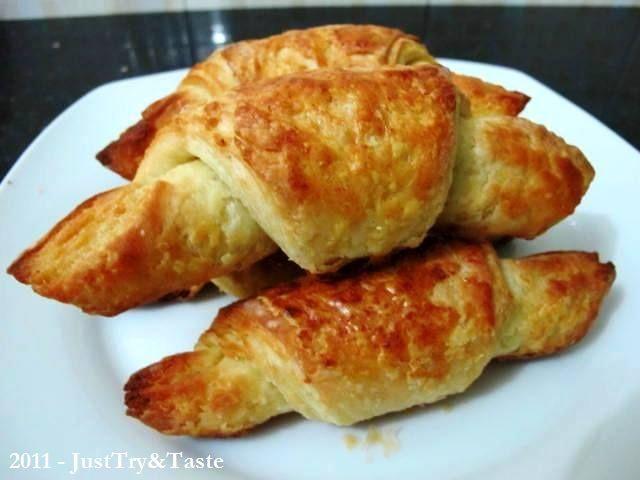 Obsesi Roti 1 Step By Step Croissant Renyah Lezat Rotis Makanan Dan Minuman Resep Masakan