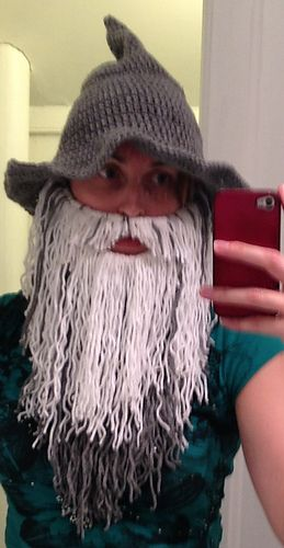 Ravelry: Beard (Viking or Wizard) pattern by Reckless Stitches