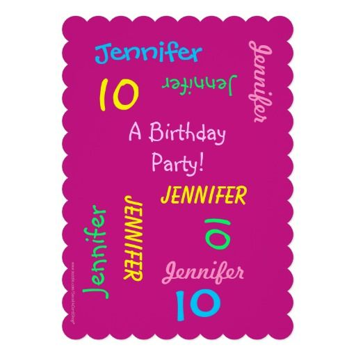 Best Themed Kids Birthday Invitations Images On Pinterest - 21st birthday invitation card background