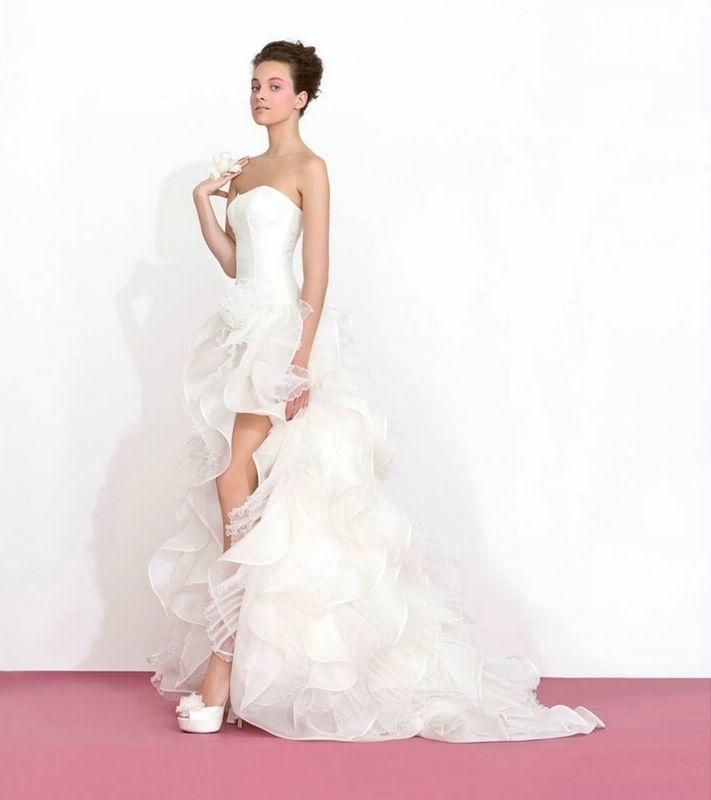 Best 83 ITALIAN Wedding Dresses:short & Long, With Slit