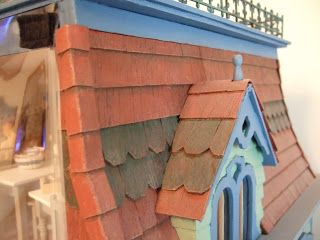 65 Best Images About Dollhouse Roof Amp Chimney On