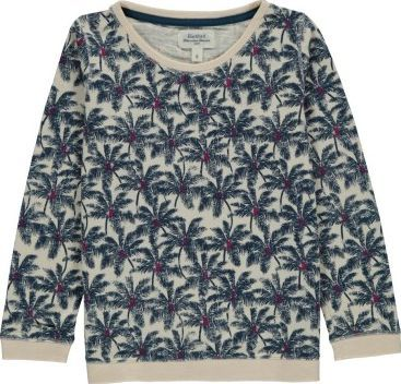 Hartford Palm trees sweatshirt Navy blue `6 years,8 Fabrics : Quilted cotton jersey Details : Straight cut, Round neckline, Long sleeves Composition : 100% Cotton http://www.comparestoreprices.co.uk/january-2017-7/hartford-palm-trees-sweatshirt-navy-blue-6-years-8.asp