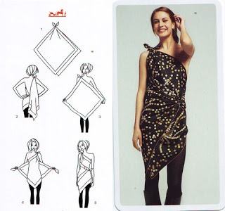 RUNAWAY: Infinity dress di Donna Karan