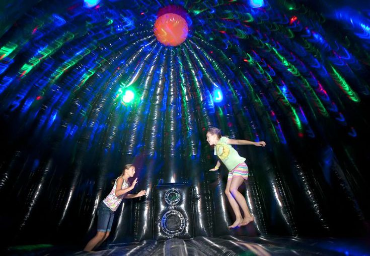 Extreme Disco Dome Dance Party Interactive Game Bounce House Rental Jacksonville Coastal Moonwalks Inflatable Bounce House Bounce House Rentals Disco Dome