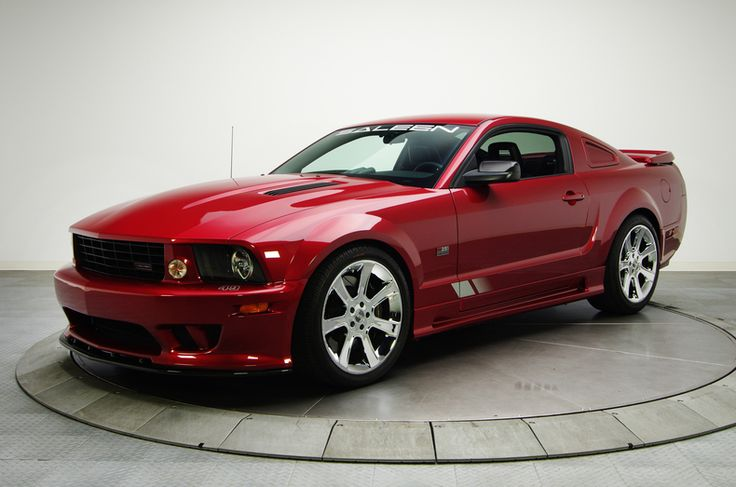2006 Ford Saleen Mustang S281 Extreme Red