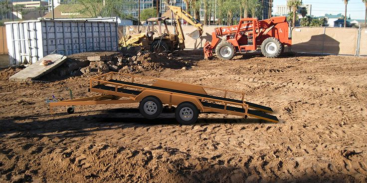 how to build a flatbed trailer