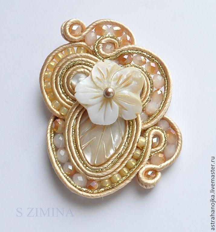 Кольцо Перламутр. Handmade.