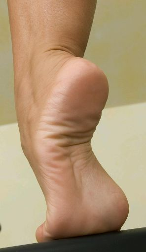 sexy high arch sole lick