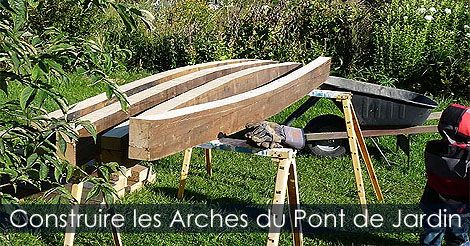 17 best images about pont de bassin de jardin tapes de construction on pinterest photos - Fabriquer bassin en bois nanterre ...