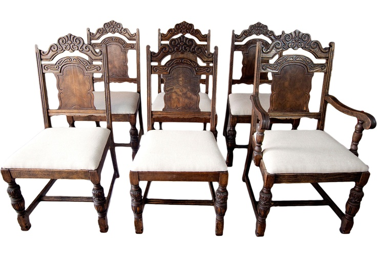 dining room discoveries 1920s carved spanish dining chairs s 6