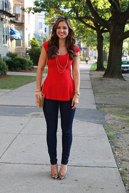 blusa roja - Buscar con Google