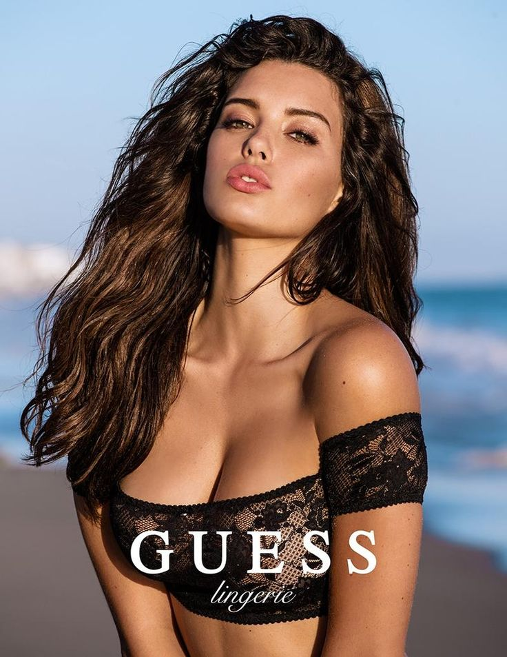 2016 Week 5 #FacticeLoves Denise Schaefer by Mégane Claire for GUESS Lingerie SS16.