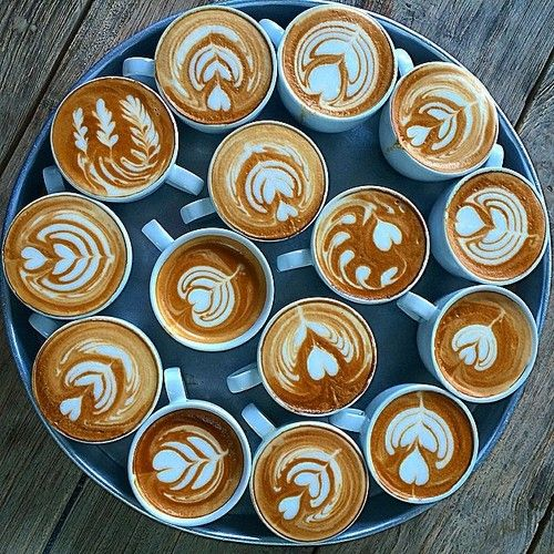 For real, can never get enough latte art. http://www.knowyourgrinder.com #coffee #coffeeswag #latte #latteart
