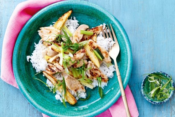 Lemon chicken stir-fry - Follow the steps in this recipe to ensure that the chicken breasts remain moist and tender after cooking.