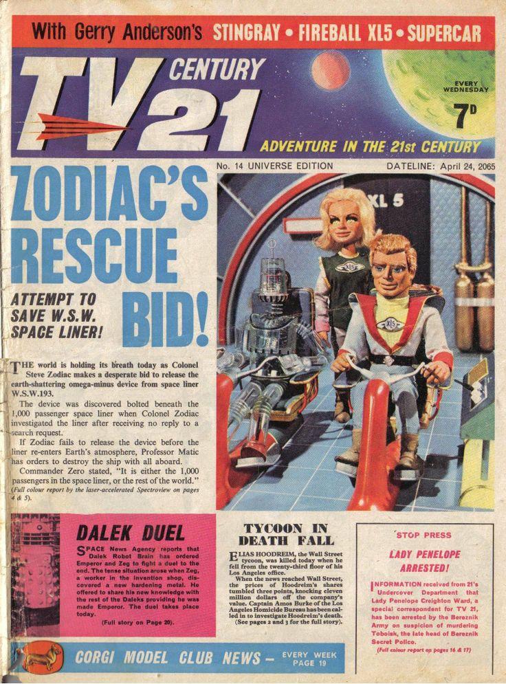 TV Century 21 issue number 14
