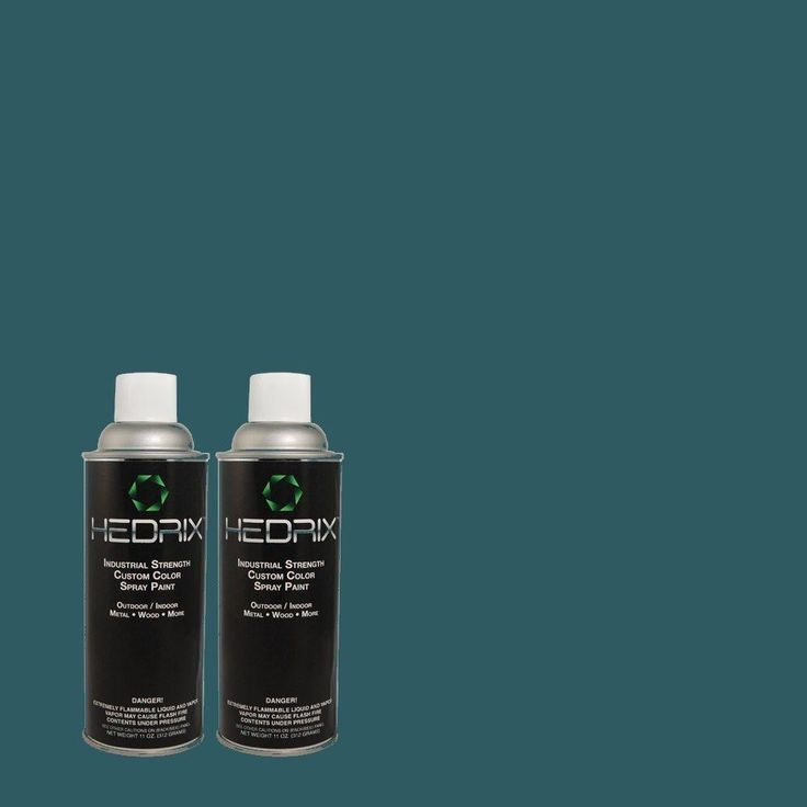Hedrix 11 oz. Match of S-H-540 Quiet Storm Low Lustre Custom Spray Paint (2-Pack)-S-H-540 - The Home Depot