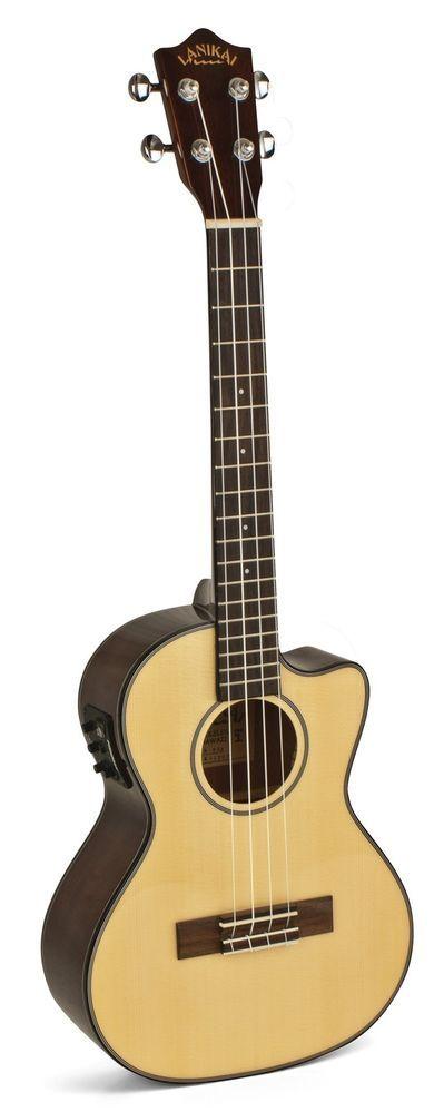 Lanikai S-TEK Solid Top Acoustic/Electric Tenor Ukulele w/ Fishman Kula EQ -SALE #LANIKAI #UKULELE