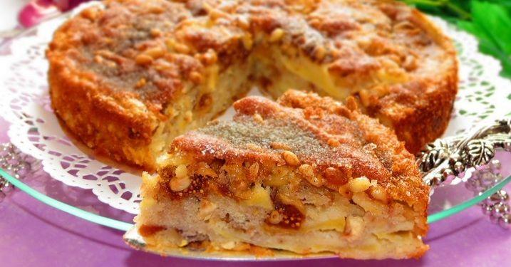 От сицилийского яблочного торта еще никто не отказывался.... Это искушение, а не рецепт! Полезное лакомство для детей.