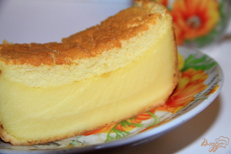 """"""" Умный"""" трехслойный пирог"""