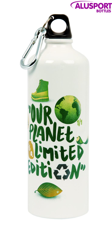 """""""Our planet is a limited edition"""" ¿Qué os parece? Entra en nuestra tienda online y hazte con una #bottle  www.alusportbottles.eu. #alusportbottles #botlles #alusport #producto #water"""